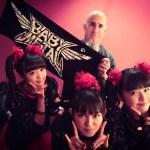 BABYEMTAL MetalHammer GoldenGods Awardsのフォトセッション豪華すぎ!画像