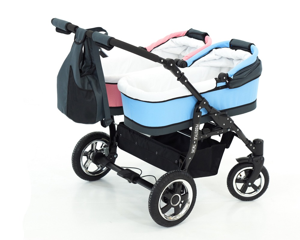 Kinderwagen Tweeling Maxi Cosi Freestyle Twins Duowagen 2 In 1 Duowagens Meerlingwagens