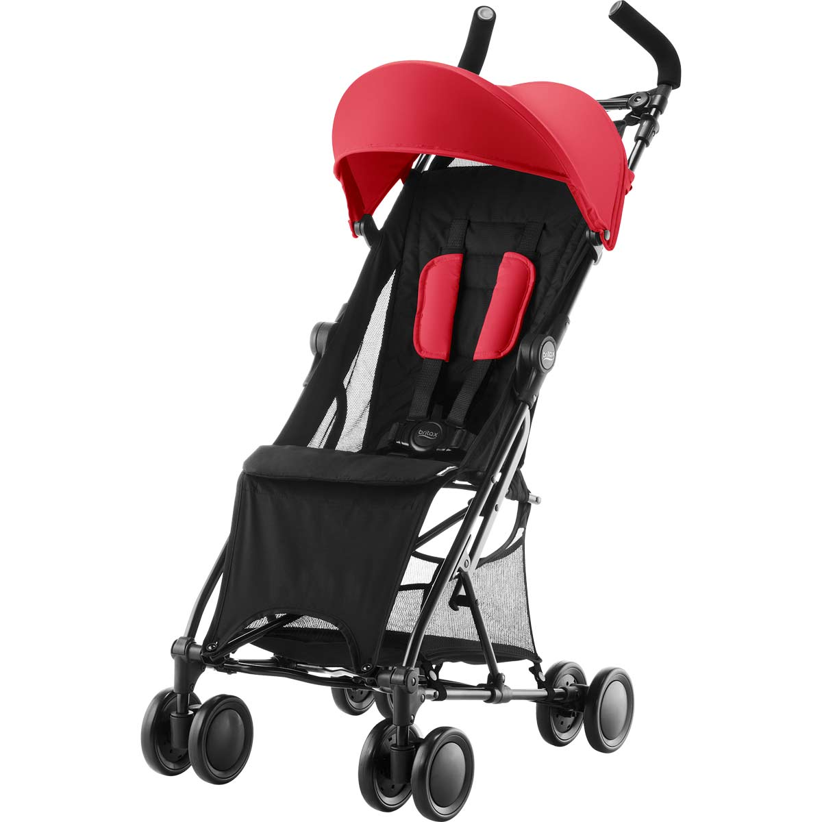 Regenschutz Buggy Britax Britax Holiday Buggy Flame Red
