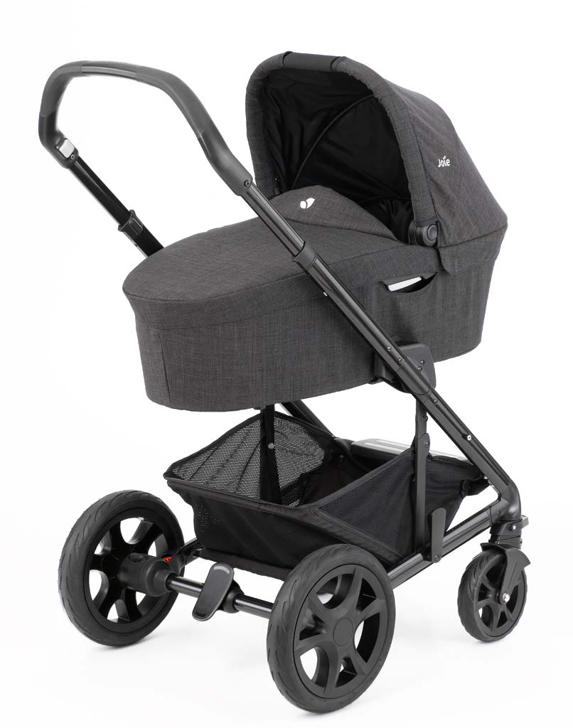 Kinderwagen Joie Joie Chrome Dlx Foggy Gray Zum Toppreis