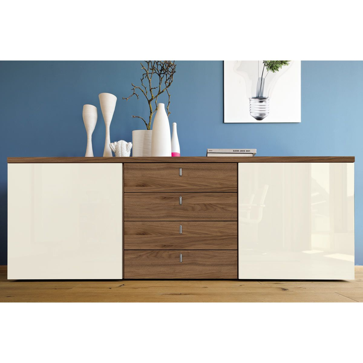 Hülsta Now Büromöbel Now Time By Hülsta Sideboard 4 Schubladen