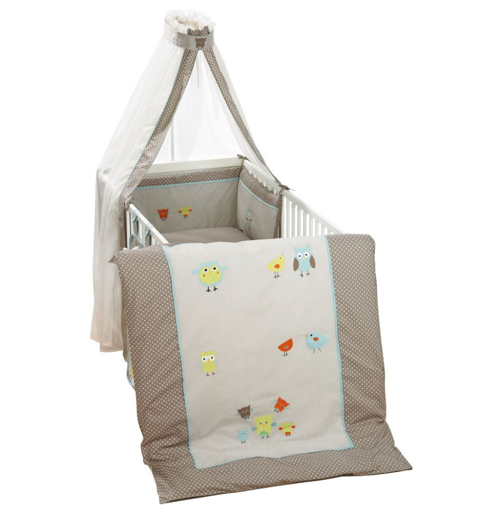 Alvi Bettset Birds Beige