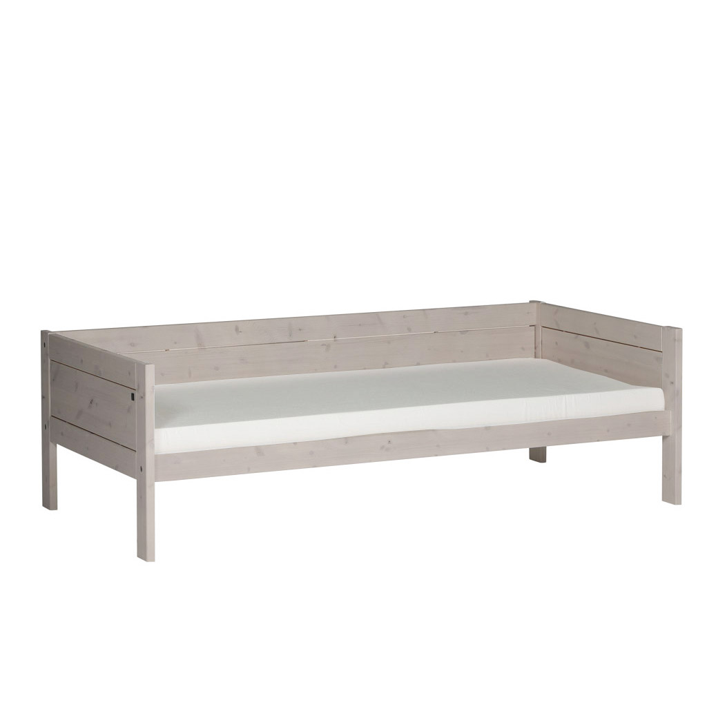 Outdoor Himmelbett Lifetime Basisbett 90x200 Kiefer Greywash