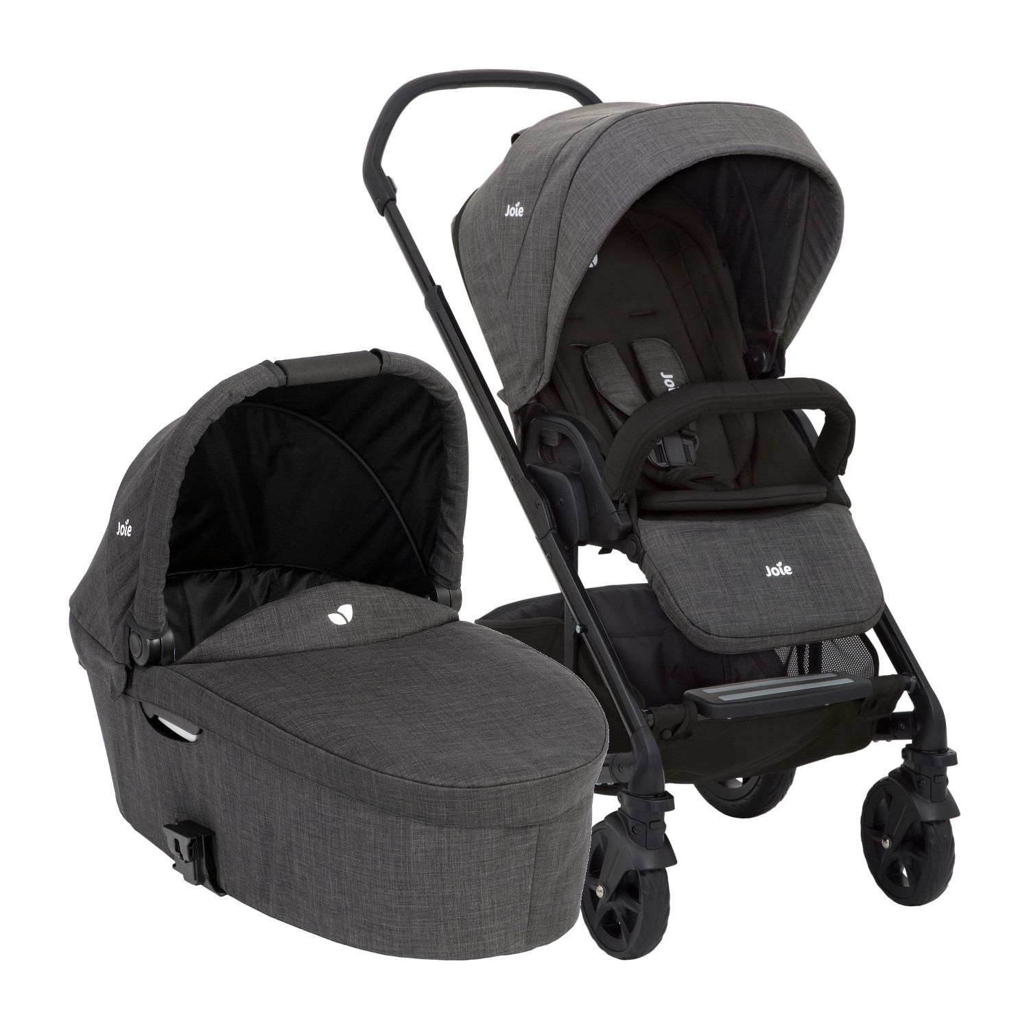Kinderwagen Joie Joie Chrome Dlx Kinderwagen Pack Pavement