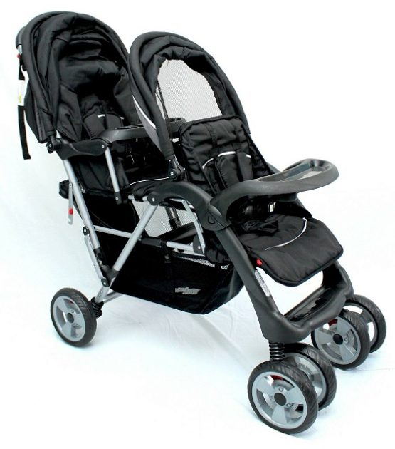 Newborn Toddler Double Pram Double Pram Stroller For Twins 2 Kids Baby Prams Austtralia