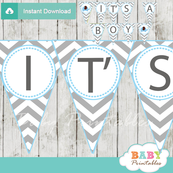 Free Printable Banners For Baby Shower - Image Cabinets and Shower