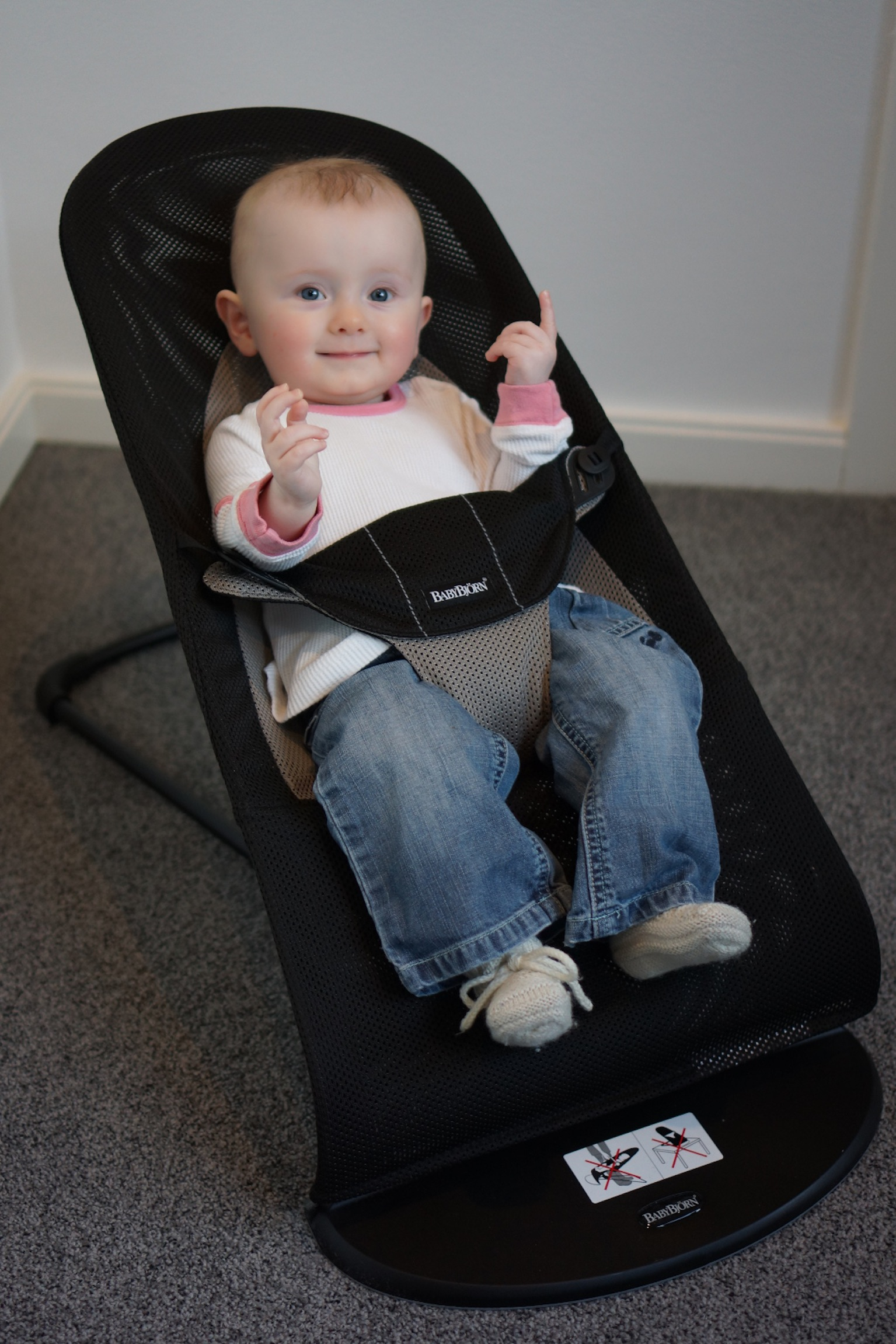 Bouncer Baby Babyreview Au Babybjorn Bouncer
