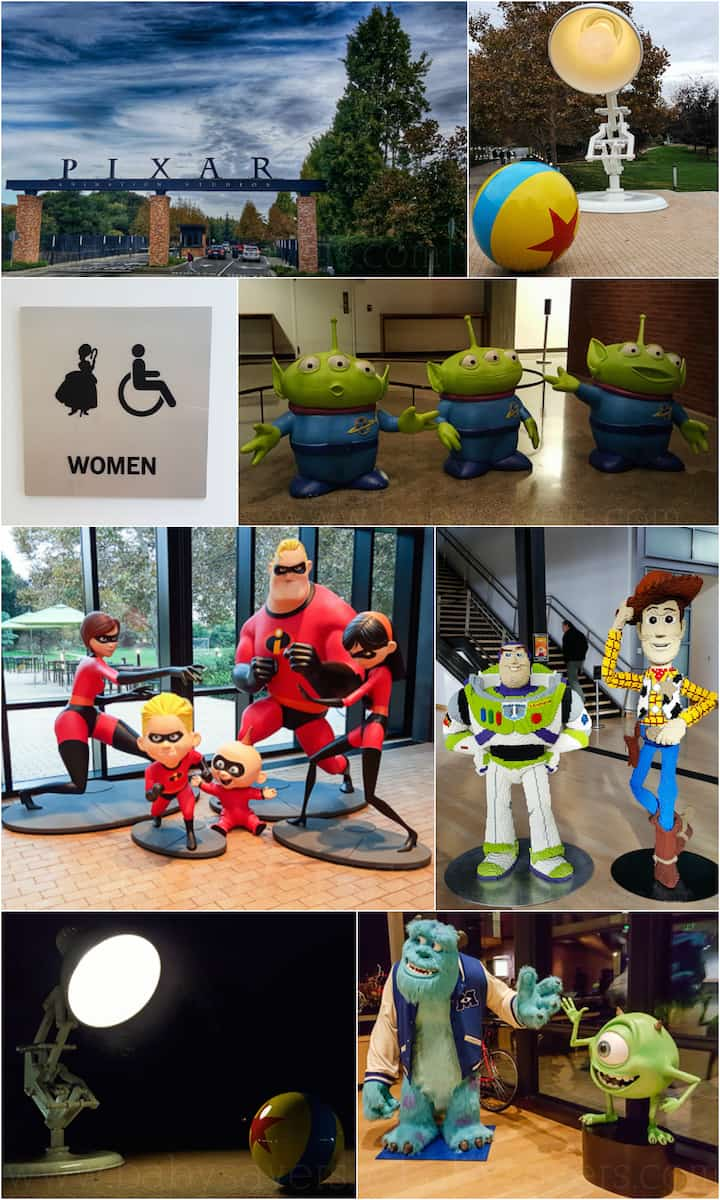 Courtyard Gates Pixar Animation Studios Tour: An Exclusive Look Inside!