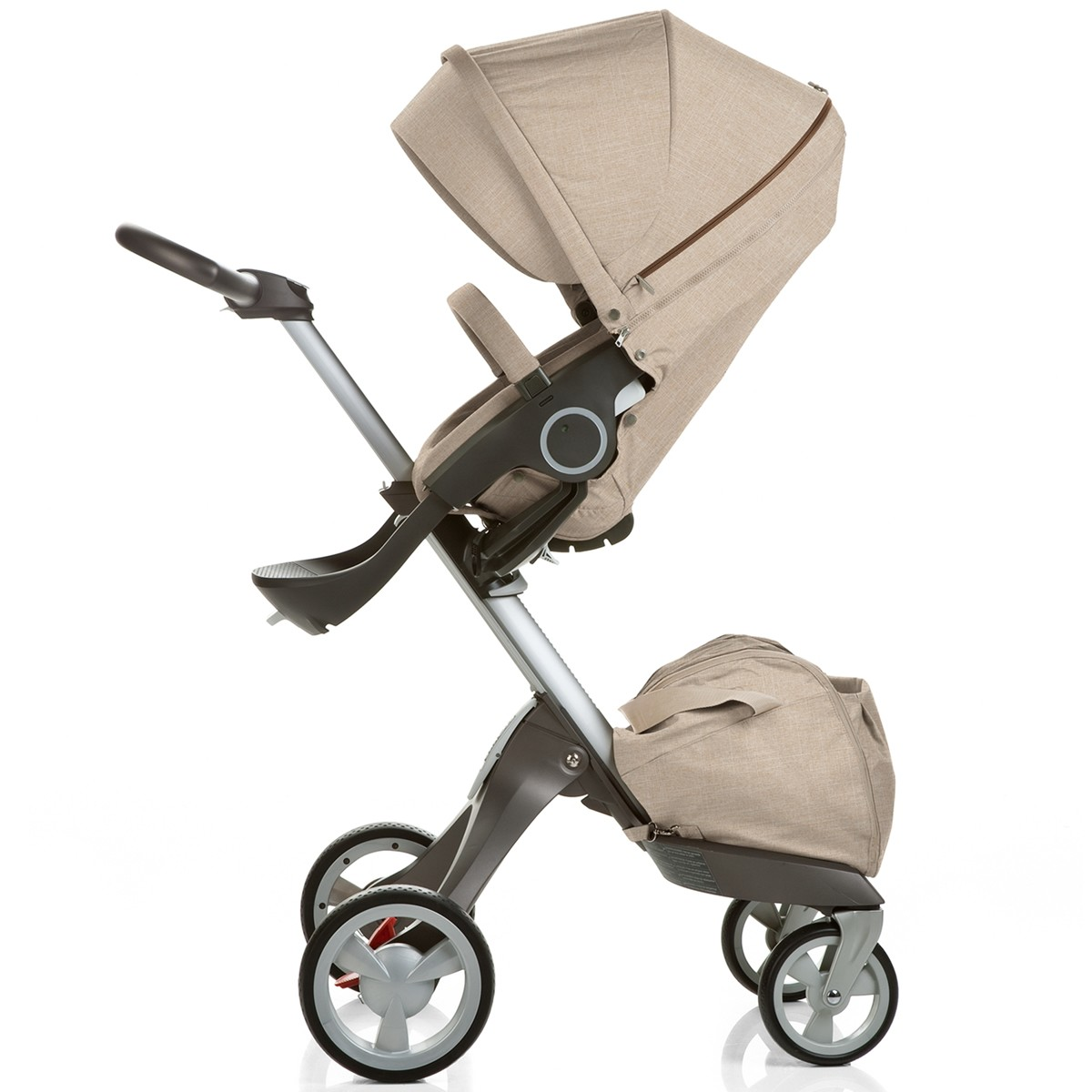 Stokke Maxi Cosi Car Seat Stokke Xplory V4 Stroller With Bassinet And Nuna Car Seat Travel System Beige Melange