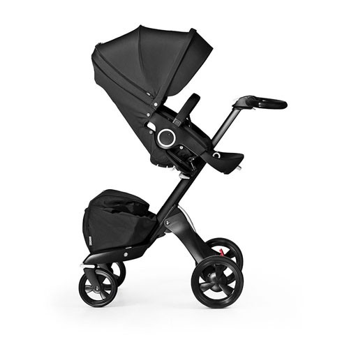 Stokke Stroller Changing Bag Stokke Xplory True Black V4 Limited Edition Stroller Set