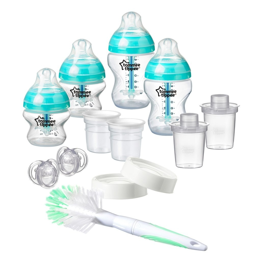 Baby Starterset Tommee Tippee Advanced Anti Colic Newborn Baby Feeding Starter Set