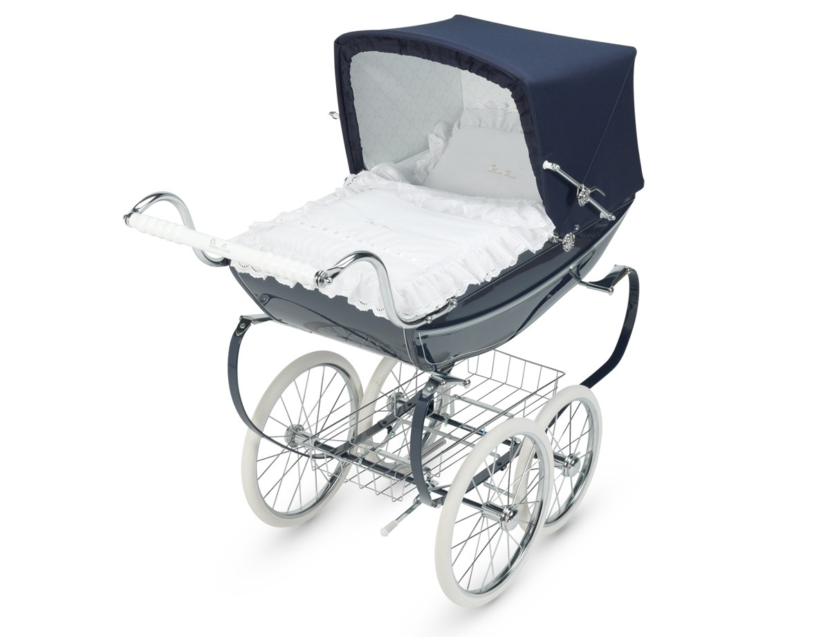 Pram And Pushchair Manufacturers Silver Cross Oberon Hand Crafted Doll Pram Stroller Pre