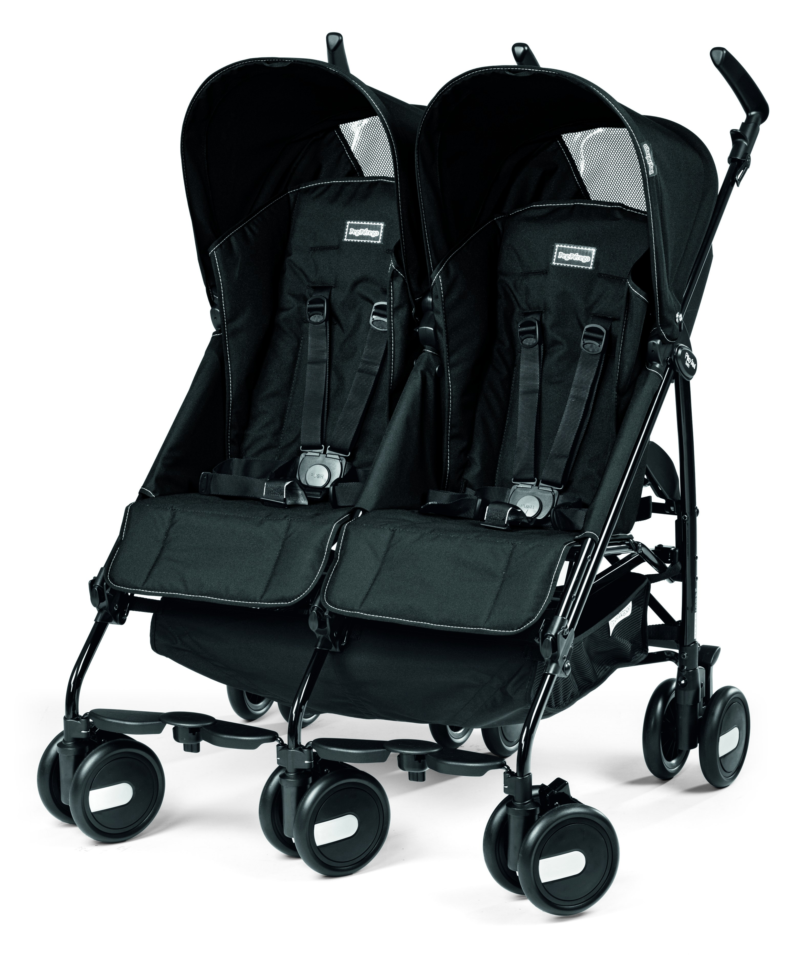 Peg Perego Stroller For Twins Peg Perego Pliko Mini Twin Leightweight Double Stroller