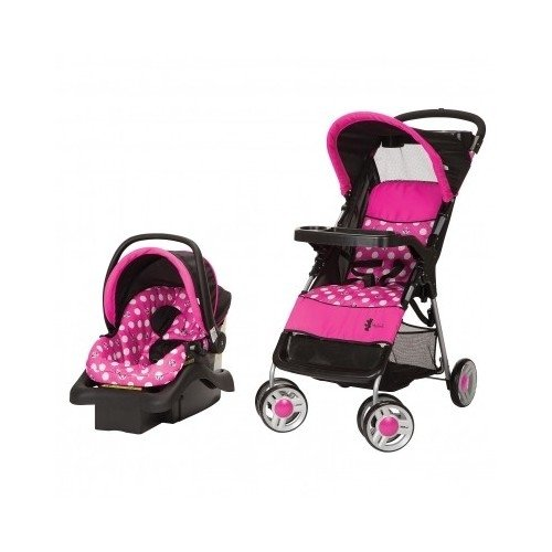 Graco Lightweight Stroller Minnie Mouse Infant Travel System Stroller And Car Seat