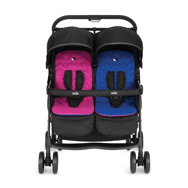 Double Buggies On Finance Joie Aire Twin Stroller Double Buggy Double Pushchair