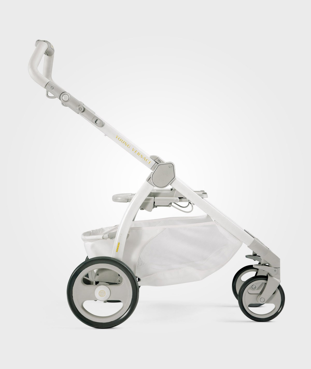 Young Versace Baby White Stroller And Travel Set Versace Versace Stroller White Babyshop