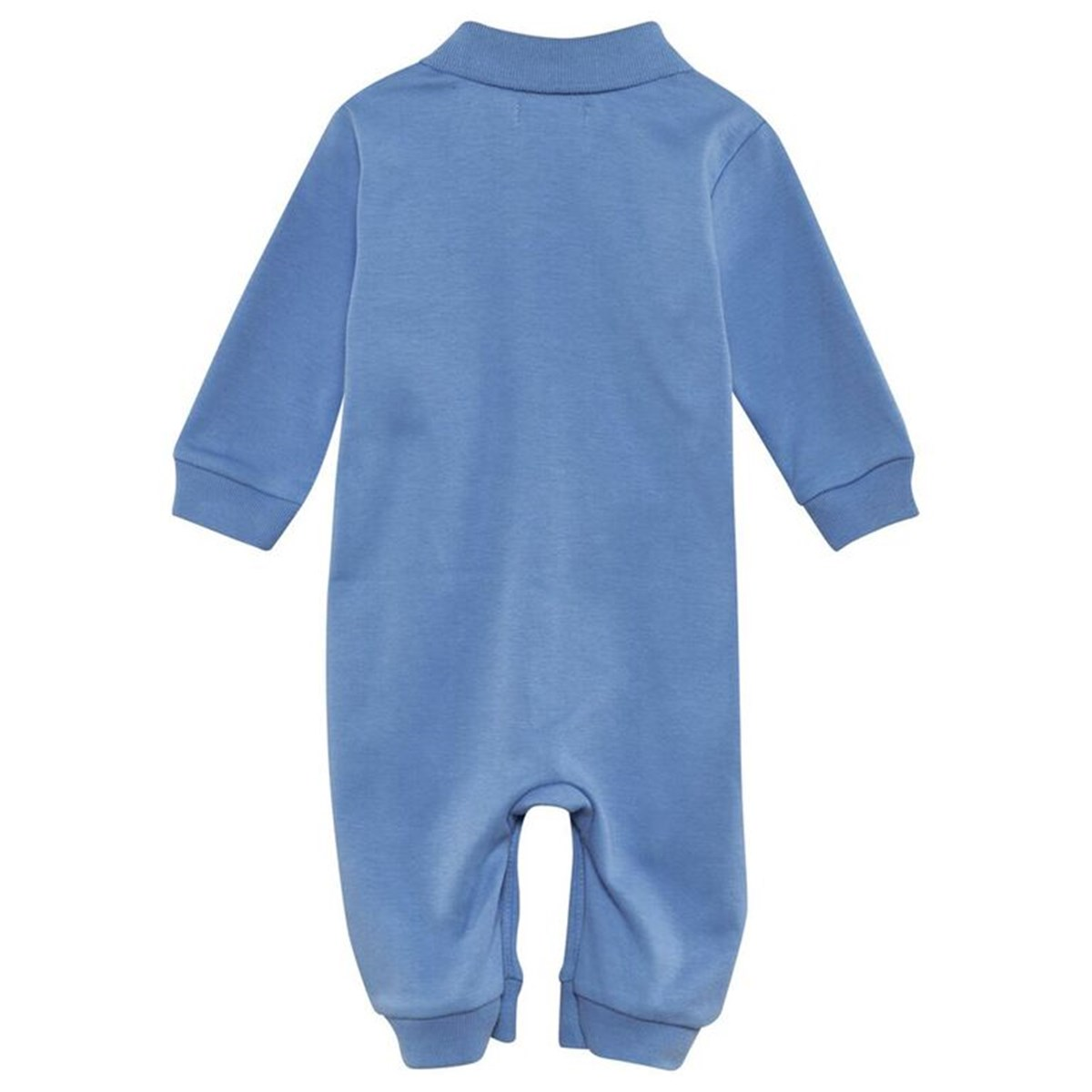 Babyone Baby Jogger Ralph Lauren Solid Cotton Baby One Piece Suffield Blue