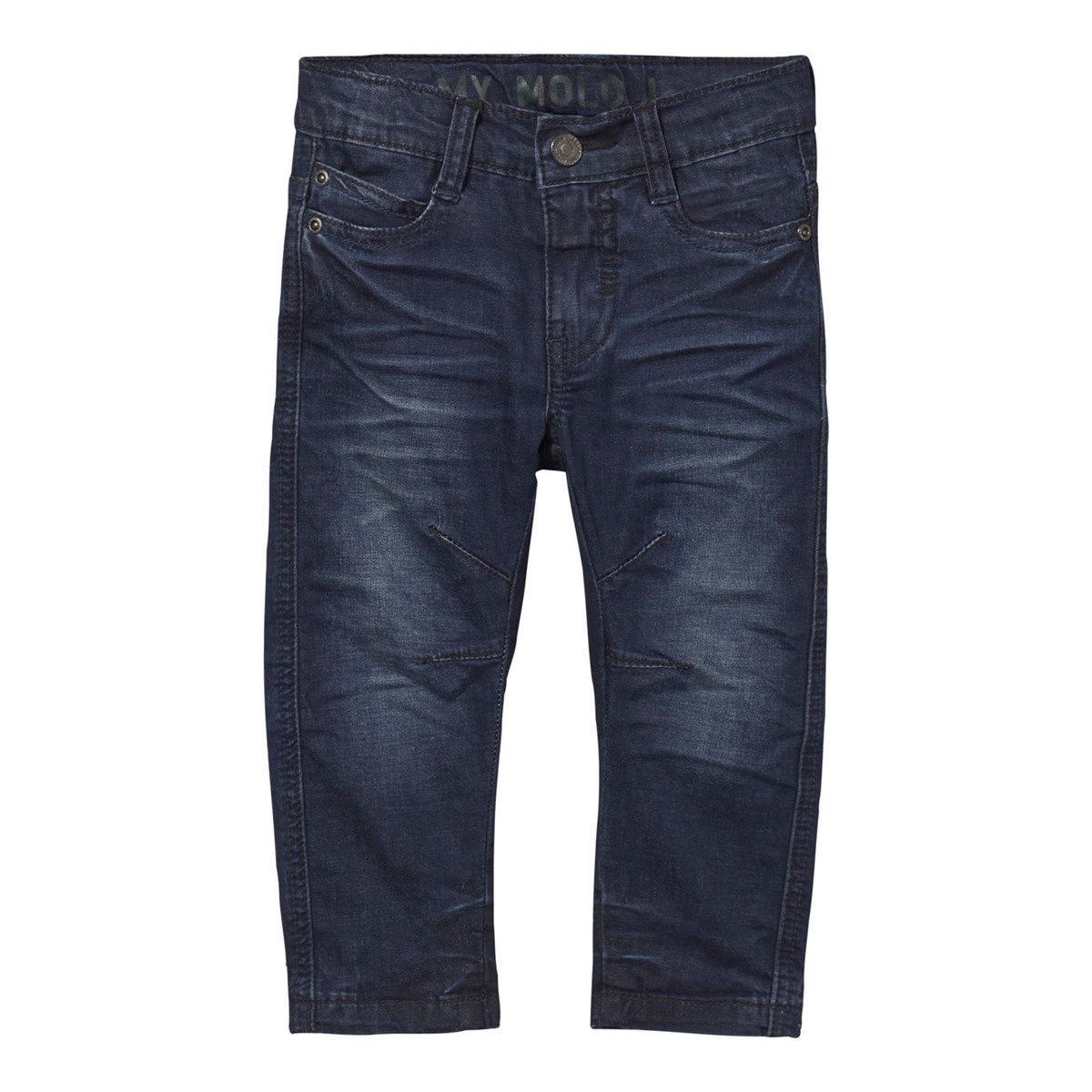 Obi Lavasteine Molo Alonso Pants Deep Dusty Blue Babyshop