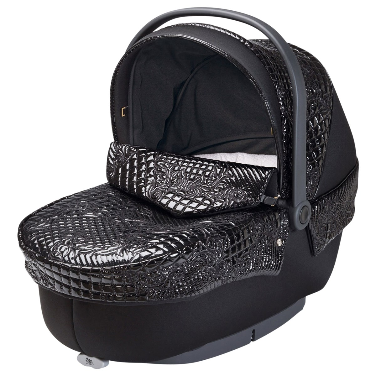 Young Versace Baby White Stroller And Travel Set Versace Versace Stroller Black Babyshop