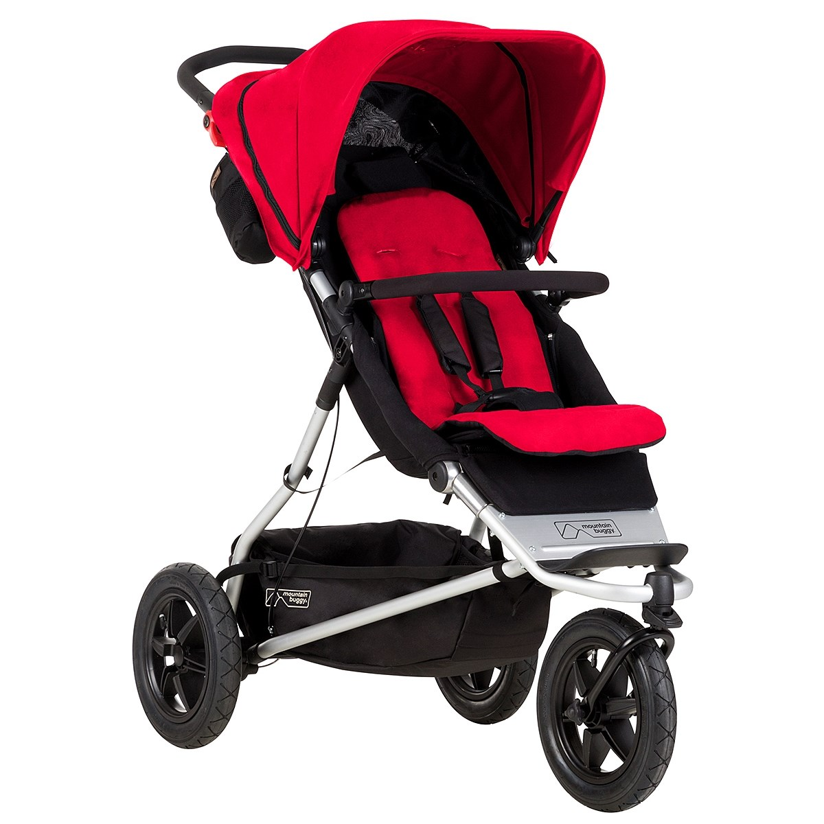 Baby Plus Buggy Mountain Buggy Plus One Stroller Red Babyshop