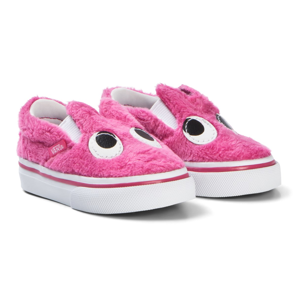 Newborn Shoes Vans Vans Magenta Party Fur Slip On Friend Shoes Babyshop