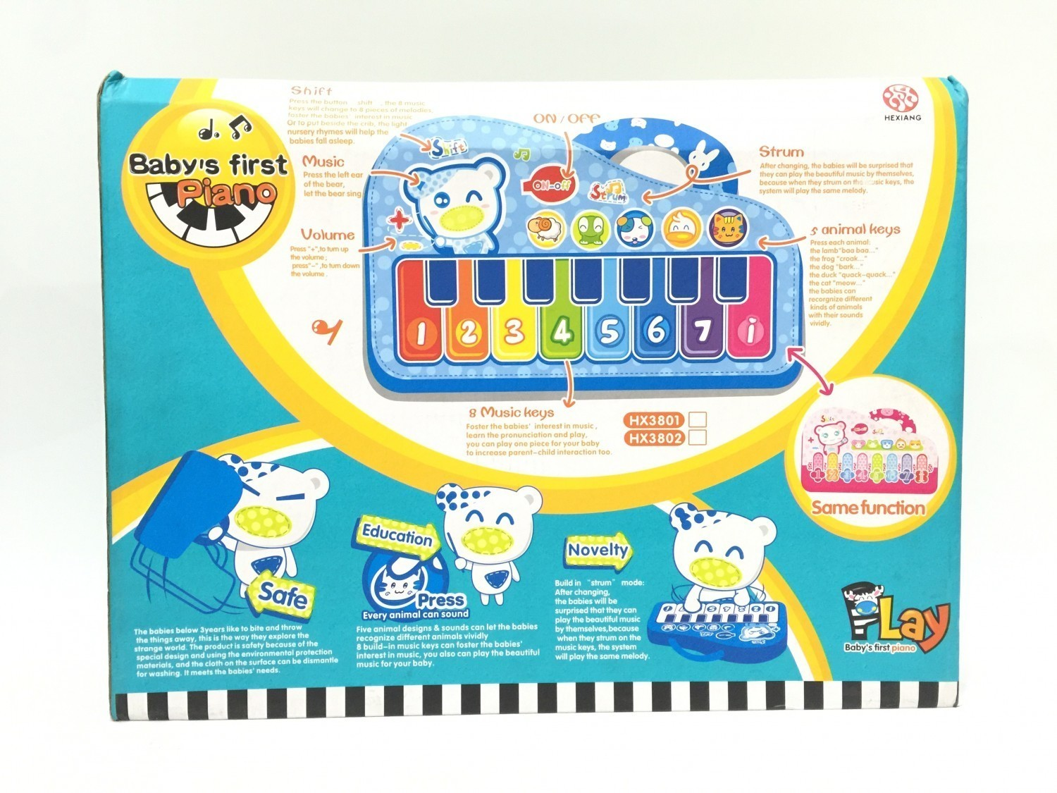 Baby Musical Toys Baby 39s First Piano Musical Toys Buy Online Nepal