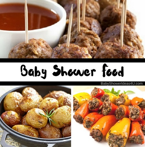 Baby Only Eats Sweet Food Simple Baby Shower Food Ideas Baby Shower Ideas Themes