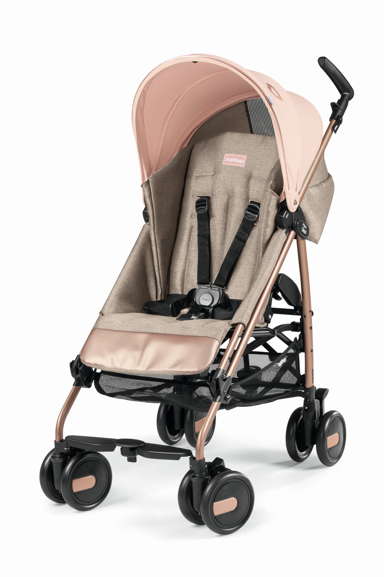 Peg Perego Stroller For Twins Pliko Mini Col Mon Amour