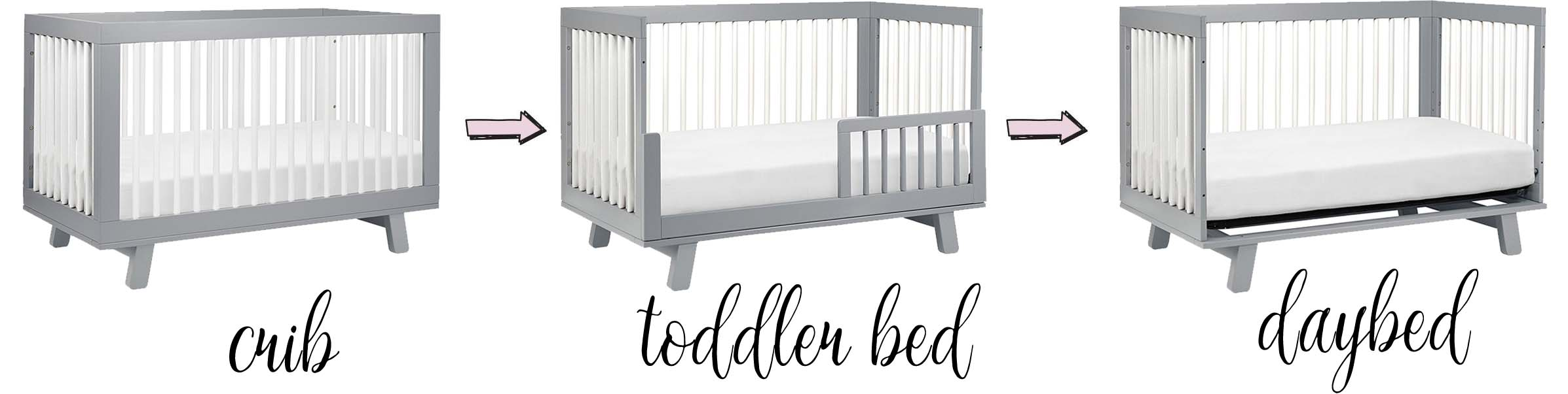 Crib Guard Rail Hudson Crib By Babyletto Toddler Bed Guard Rail Daybed Baby S