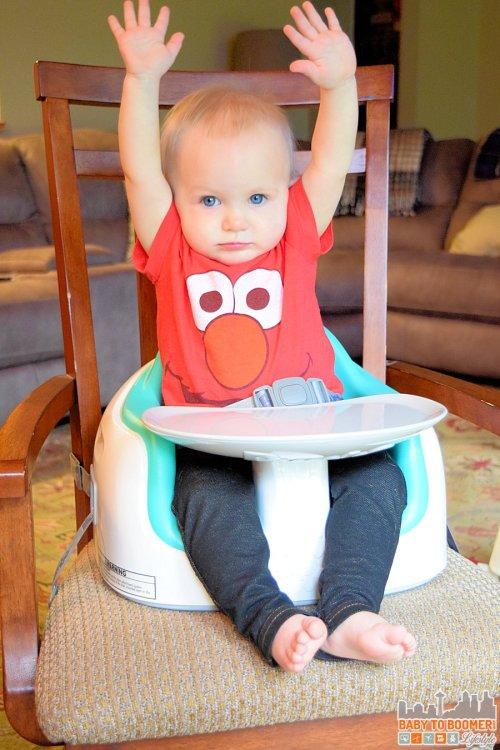 Medium Of Bumbo Seat With Tray