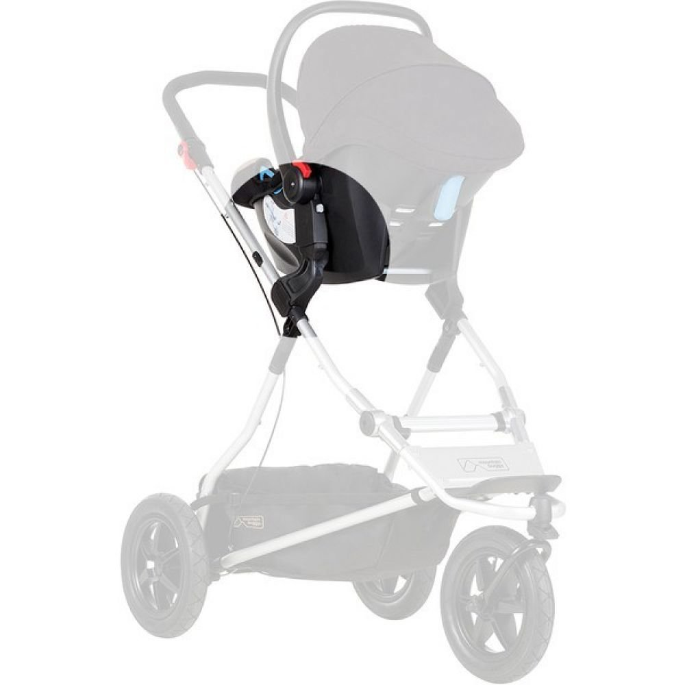 Doppel Kinderwagen Urban Jungle Mountain Buggy Adapter Maxi Cosi Cybex One Clip 32