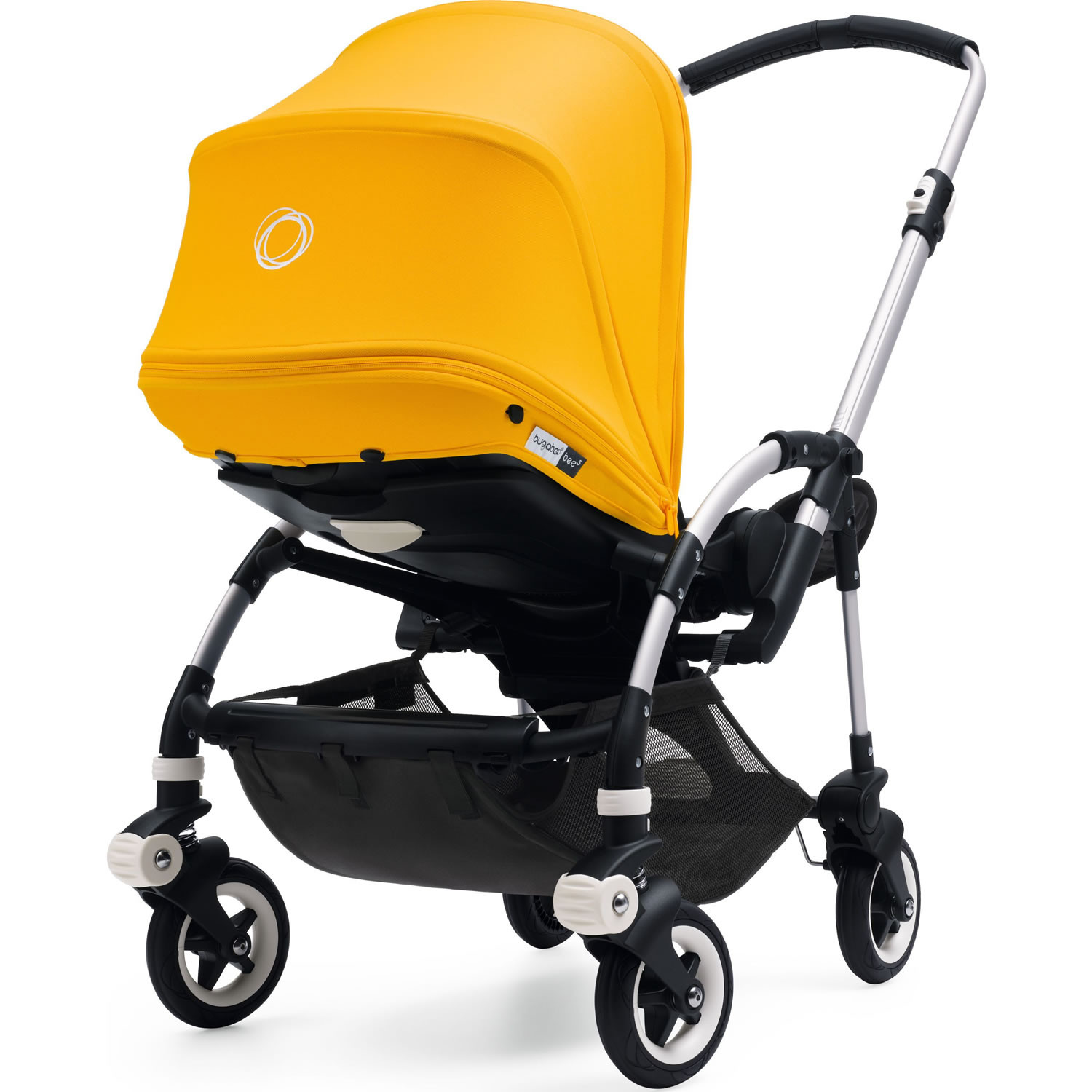 Bugaboo Pram Yellow Bugaboo Bee5 Complete Pushchair And Canopy Sunrise Yellow