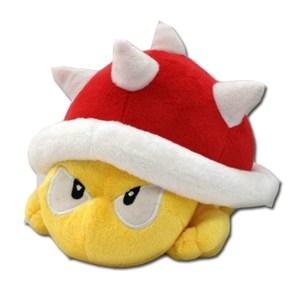 Super Mario Plush Toy Spiny Koopa