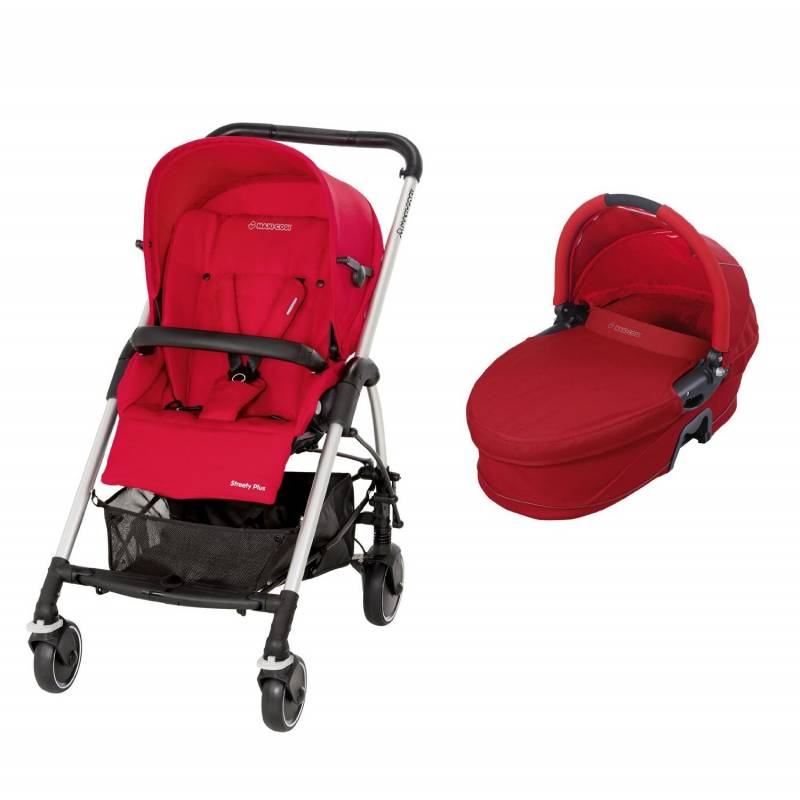 Housse Poussette Quinny Poussette Et Nacelle Maxi Cosi Streety Intense Red 2013