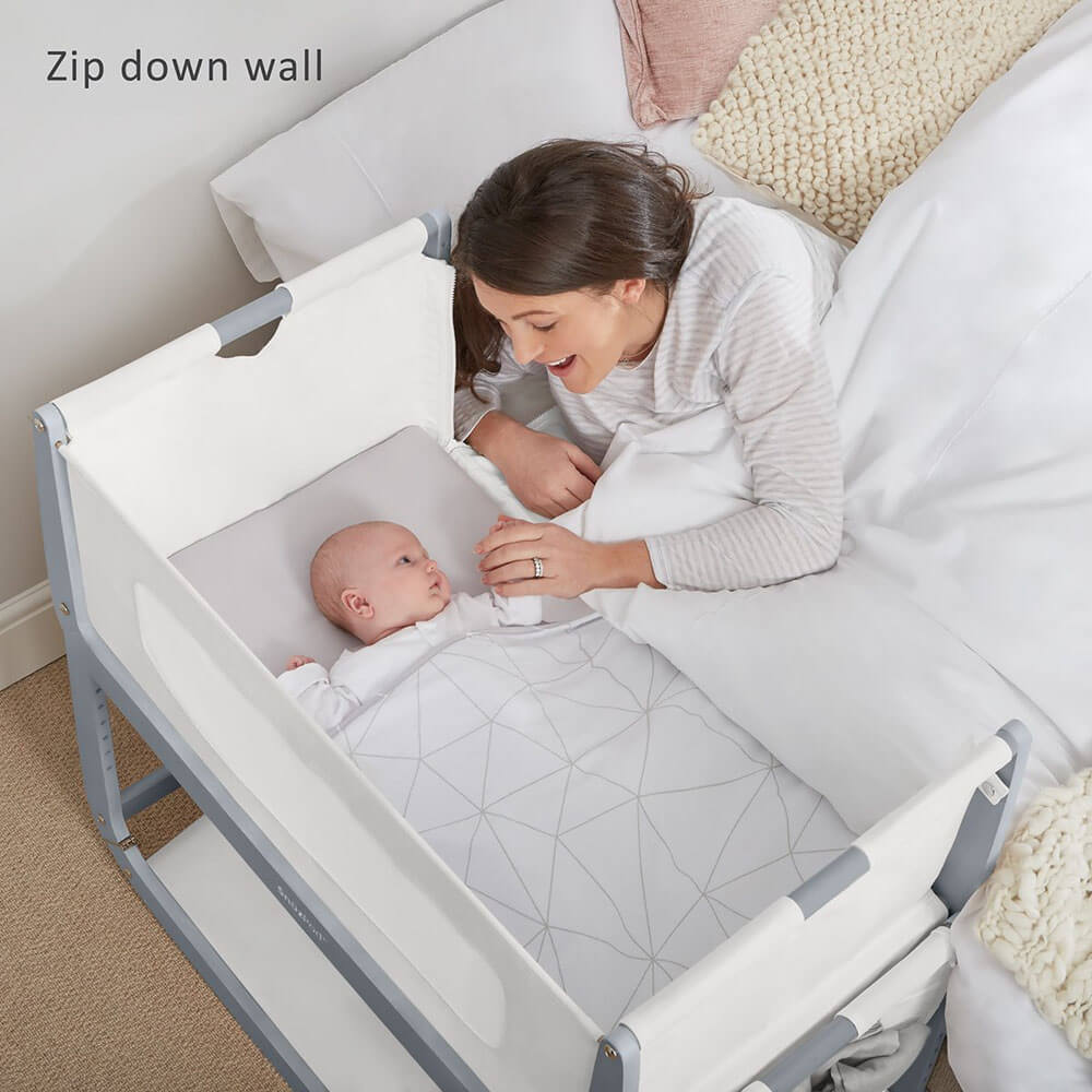 Newborn Bassinet Reflux Snuzpod 3 Co Sleeping Rocking Bassinet Baby Village