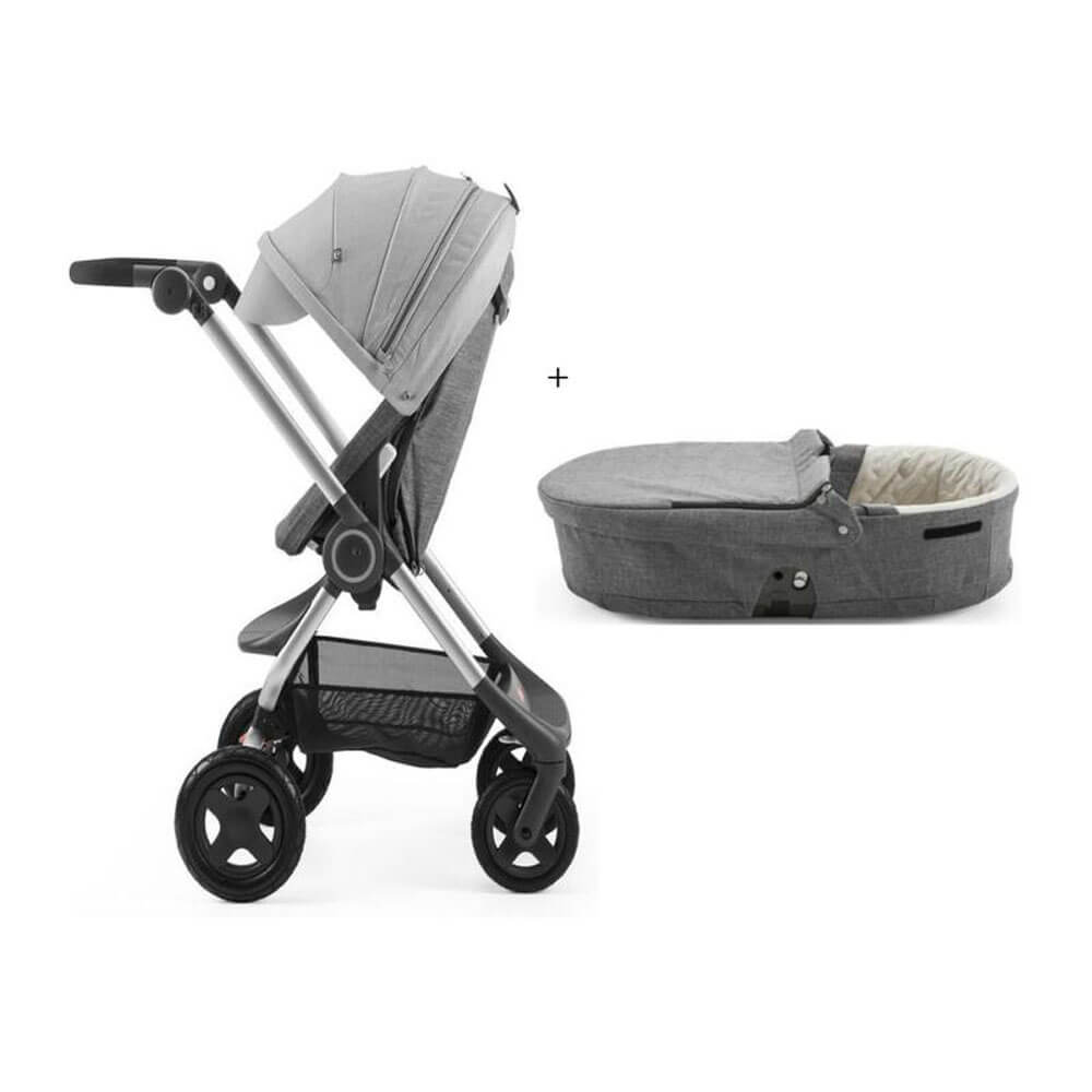 Stokke Scoot Buggy Board Stokke Scoot Pram Carry Cot Baby Village