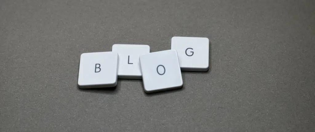letras de blog para posts