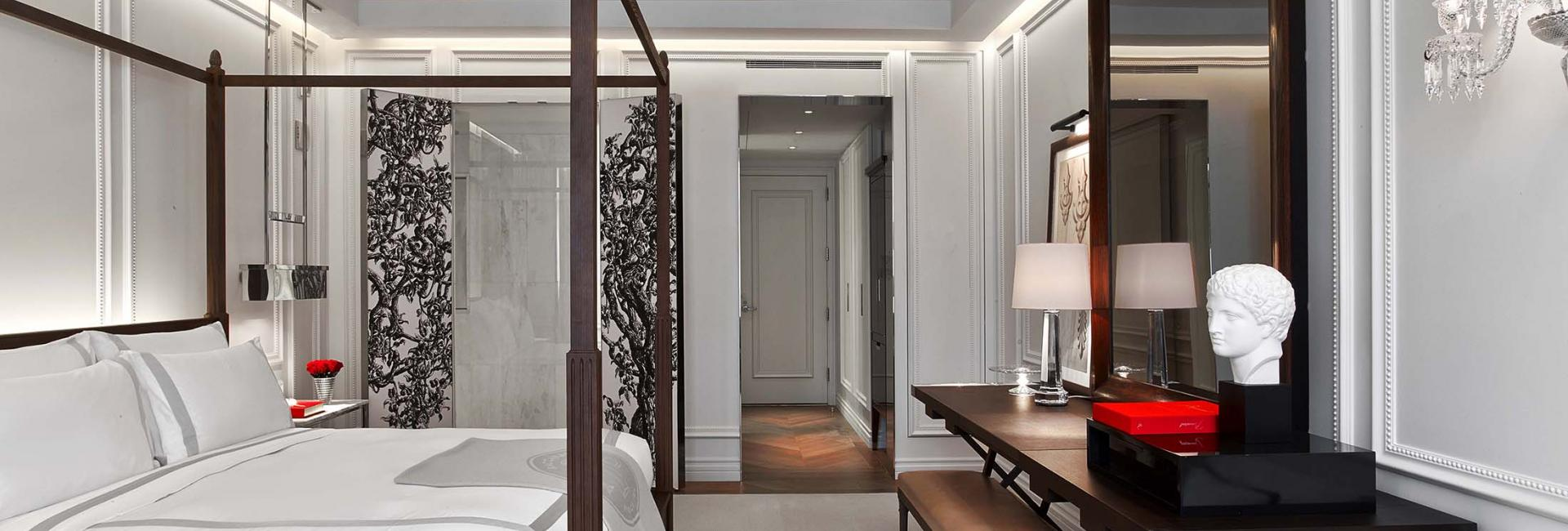 Classic Bedroom Escape Guest Rooms Suites Baccarat Hotel