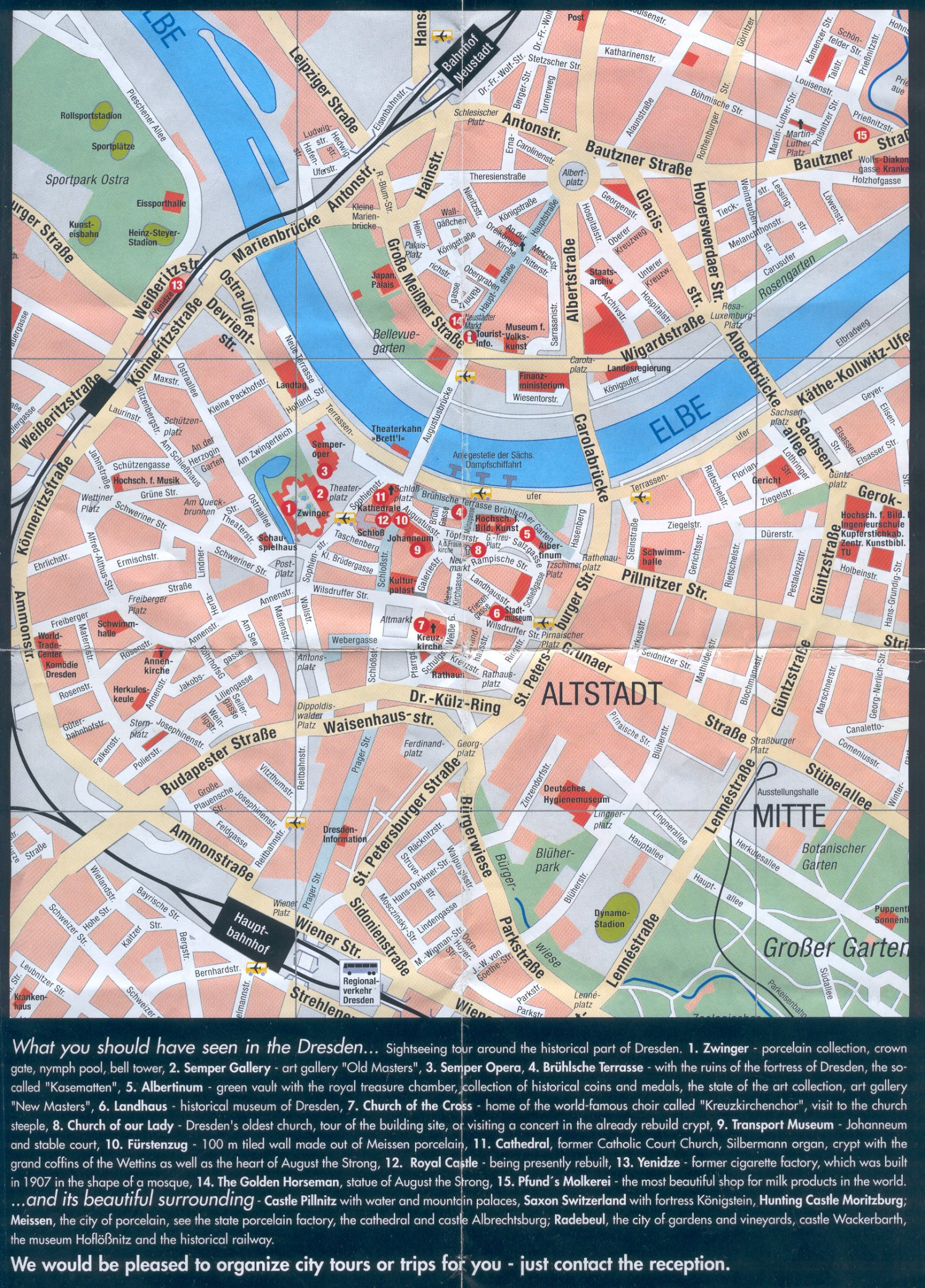 Bus Erfurt Berlin Guide To Bach Tour: Dresden - Maps