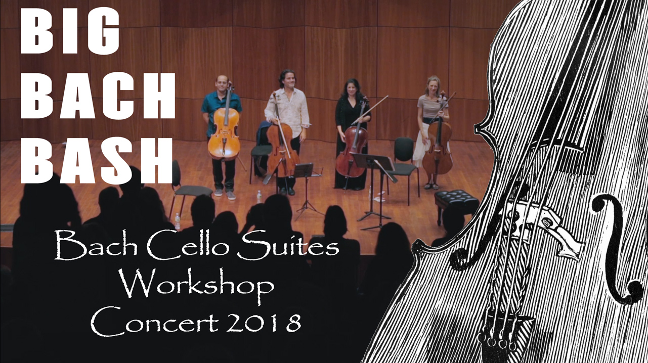 Bach Thu Mb Bach Cello Suites Workshop Inc Videos Showing Elements Of