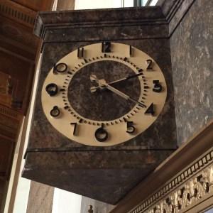 time, clock, LA, union station