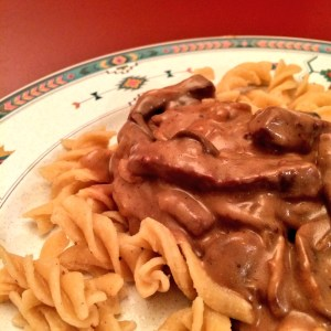 beef, paleo, stroganoff, allrecipes, recipe, dinner