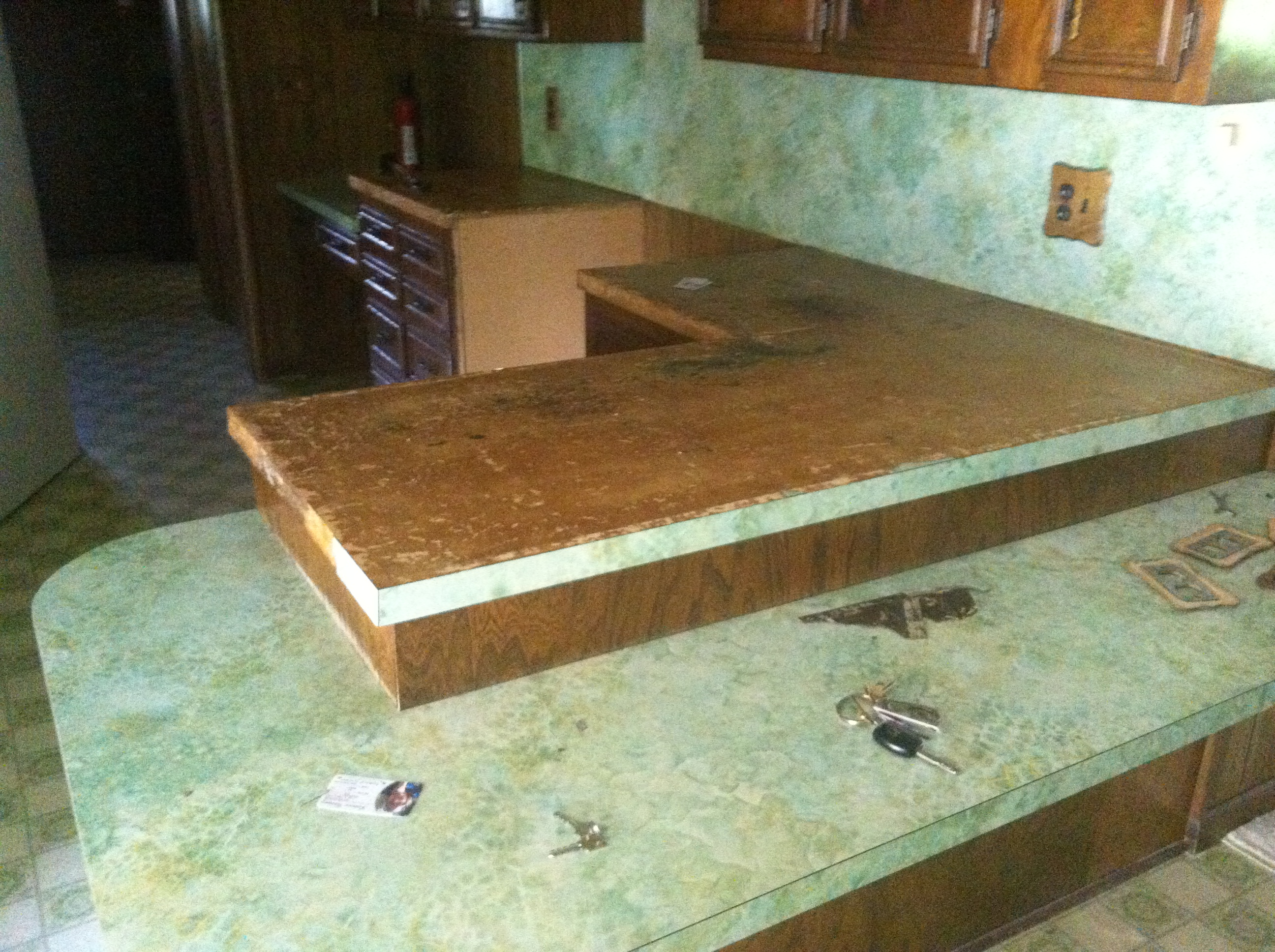 Removing Formica Countertops How To Remove Countertops Bachelorette Pad Flip