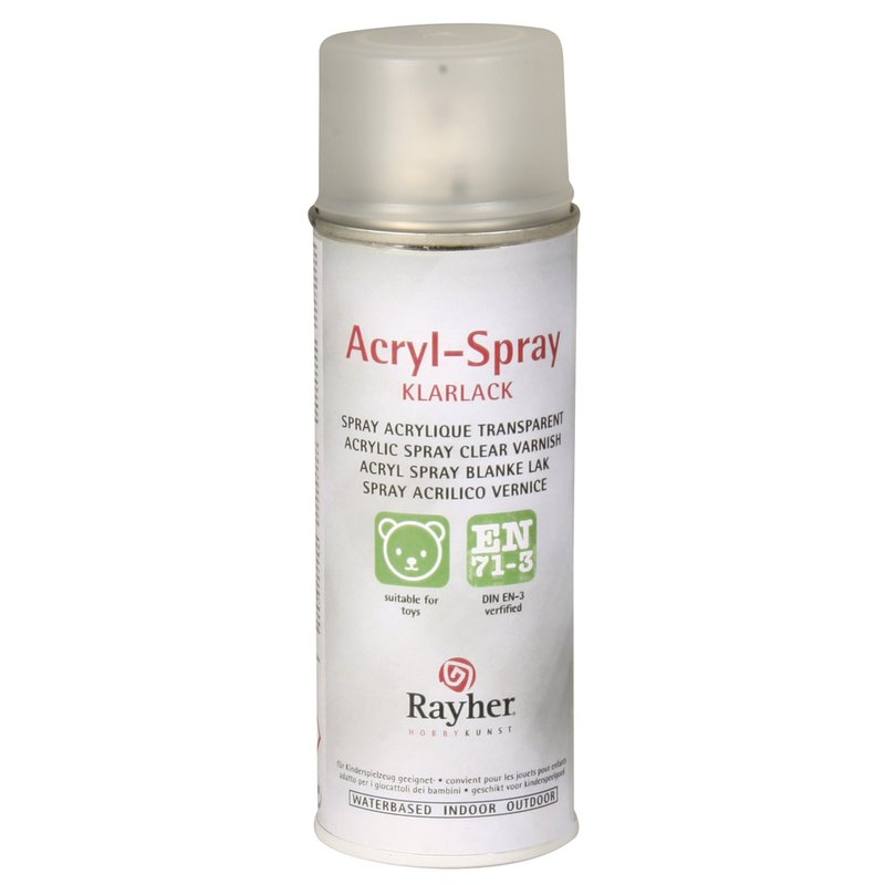 Dose Klarlack Acryl Spray, Dose 200ml Klarlack Matt