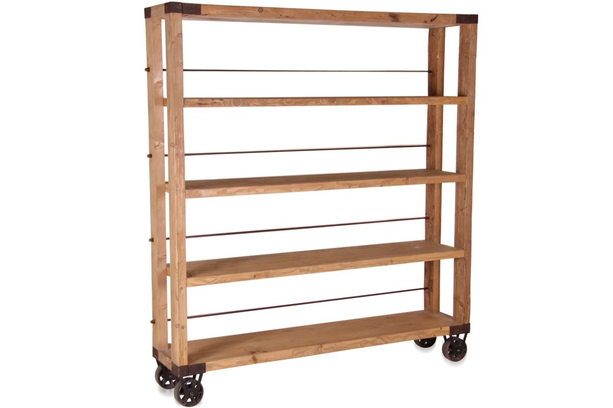 Bücherregal Industrial Industrial Bookcase Bookshelf Shelf Shelves And Bookcases