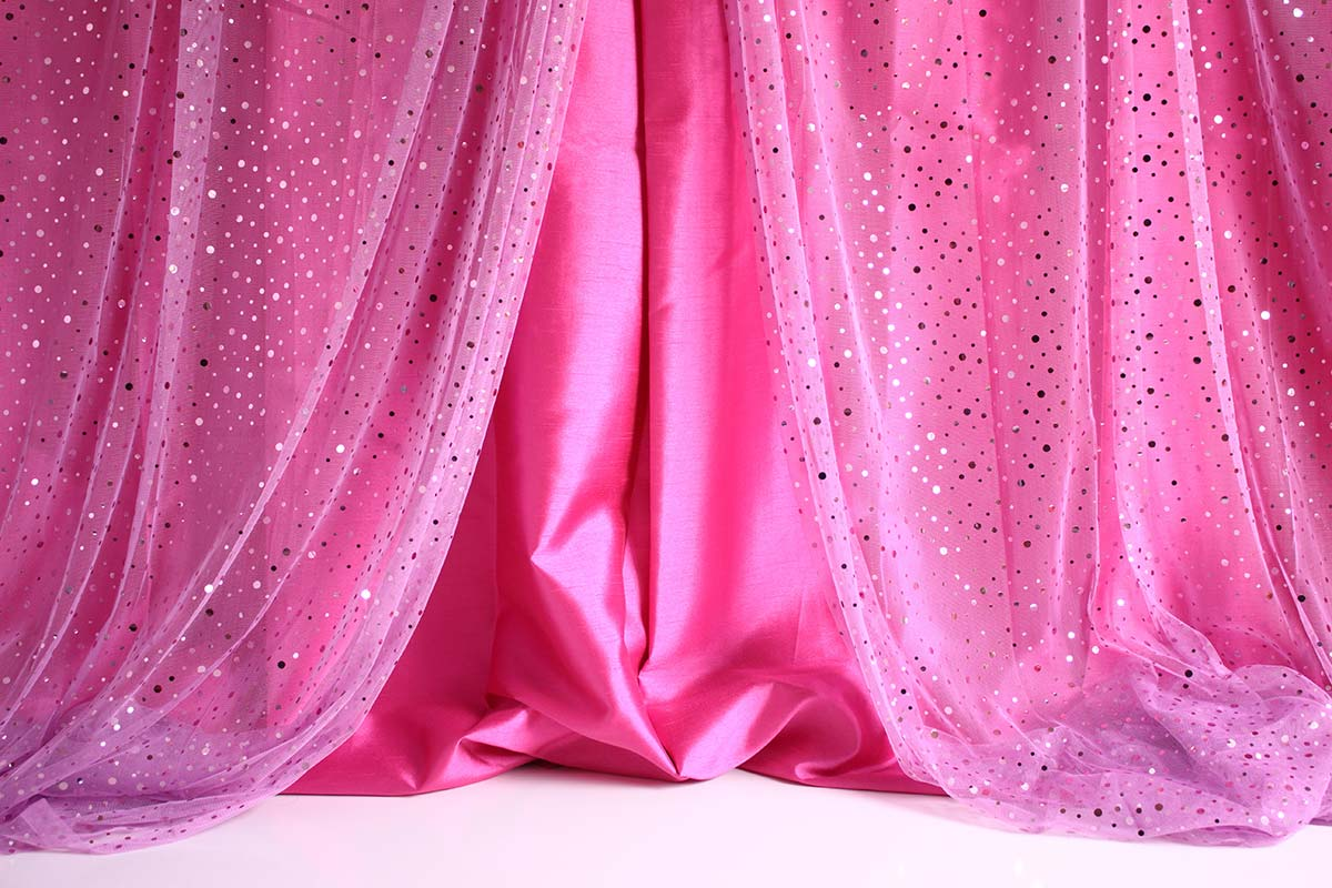 Pink Sequin Curtains Pink Sequin Curtain Open Backdrops Canada