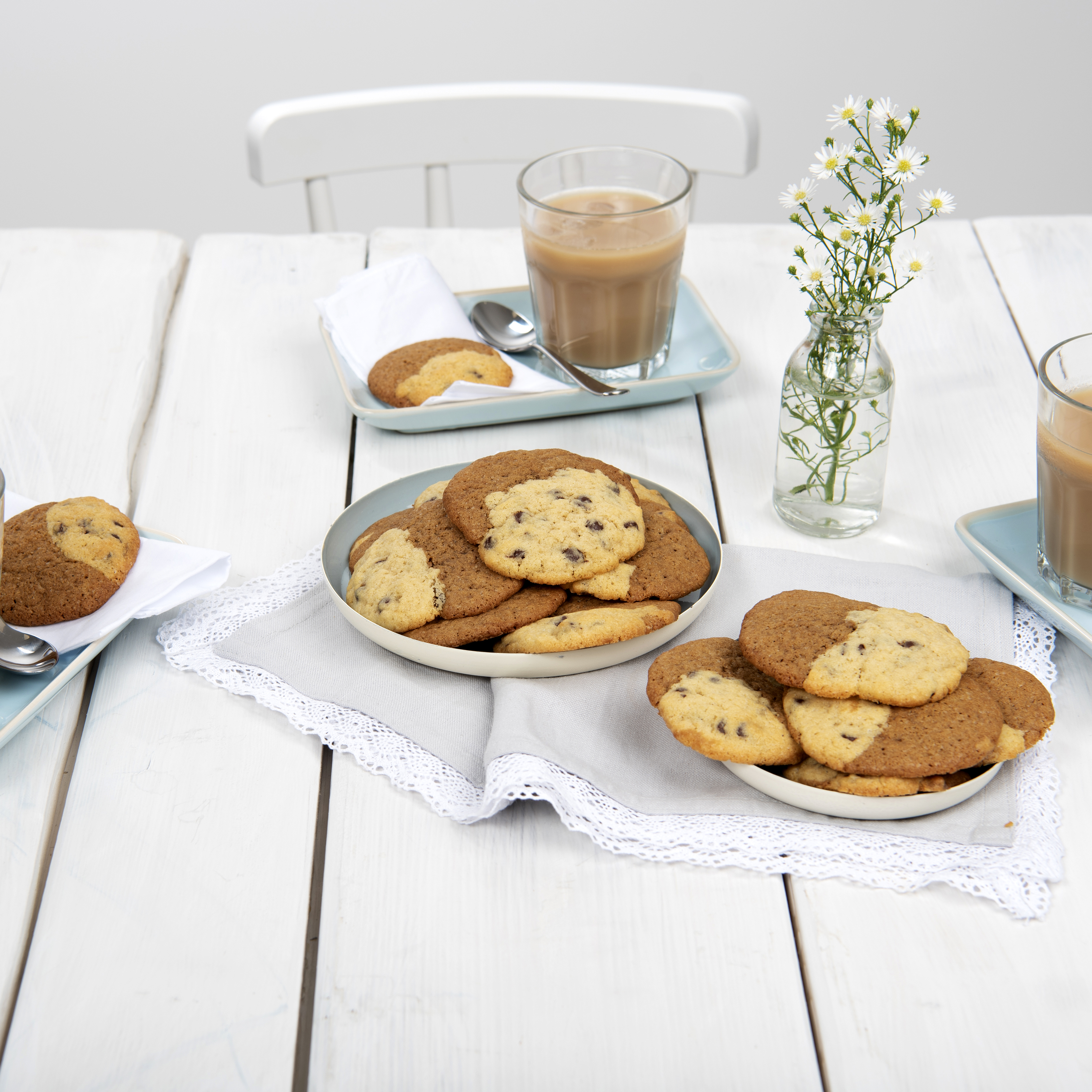 Backen Statt Natron Eiskaffee Cookies