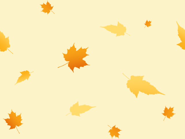 Fall Pumpkin Computer Wallpaper Falling Leaves Seamless Pattern Background Labs