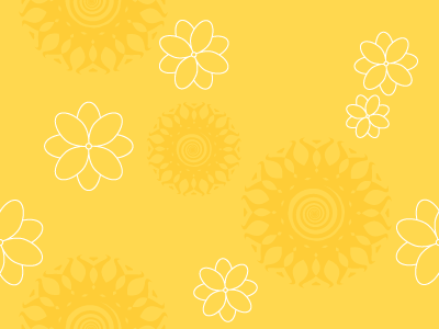 Wallpaper Iphone Pastel Yellow Floral Pattern Background Labs