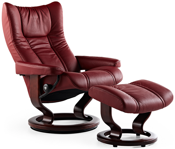 Stressless You Sessel Stressless Wing Recliner - Back In Action